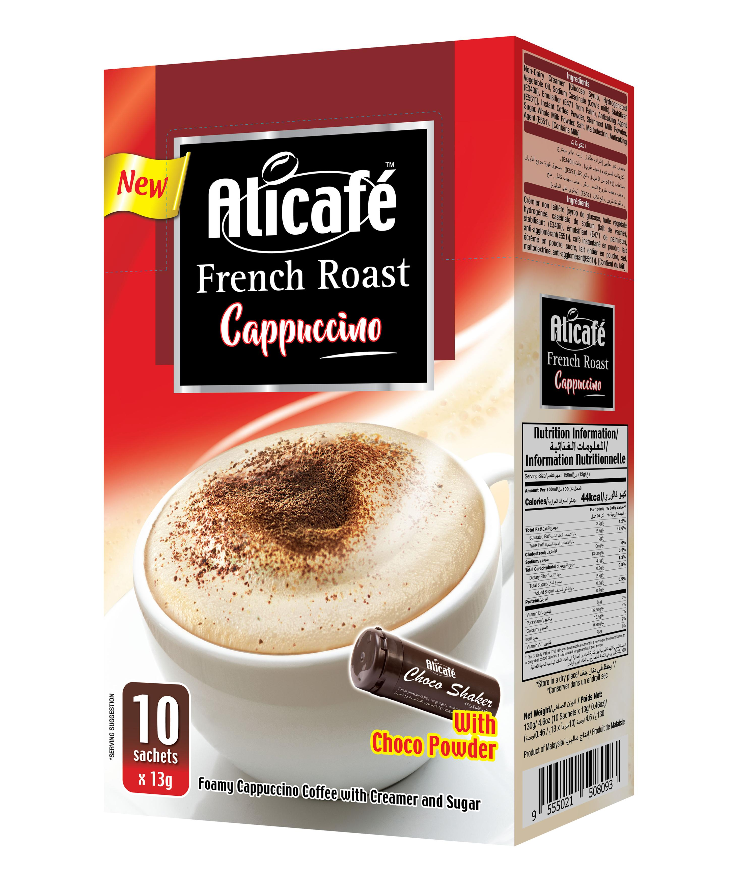 Alicafé French Roast Cappuccino